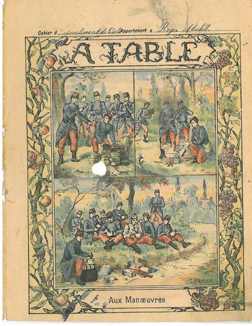 Série A table (Coll. Godchaux)